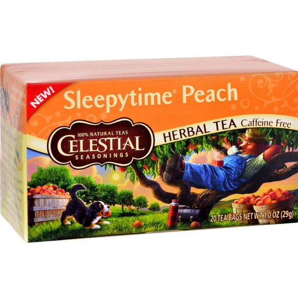 Celestial Seasonings Herbal Tea Sleepytime P - Case Of 6 - 20 Bag - Vita-Shoppe.com