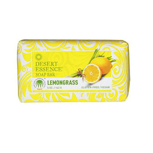 Desert Essence Bar Soap - Lemongrass - 5 Oz - Vita-Shoppe.com
