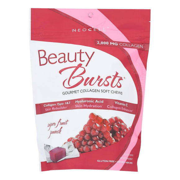 Neocell Laboratories Beauty Burst - Fruit Punch - 60 Chews - Vita-Shoppe.com