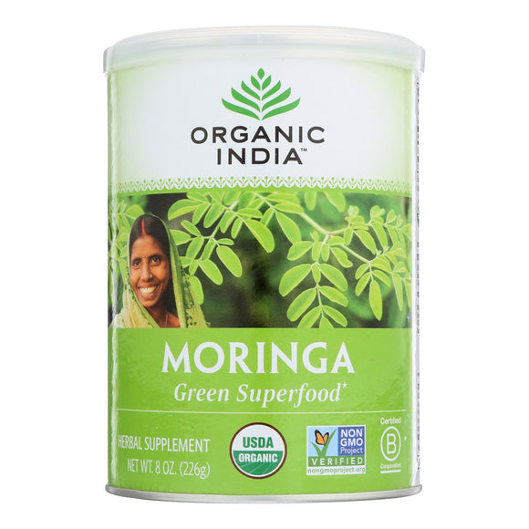 Organic India Organic Moringa Leaf Powder - 8 Oz - Vita-Shoppe.com