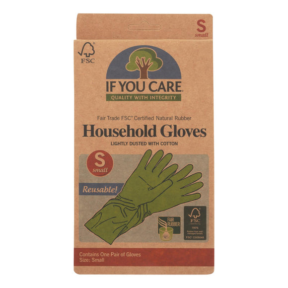 If You Care Household Gloves - Small - 1 Pair - Vita-Shoppe.com