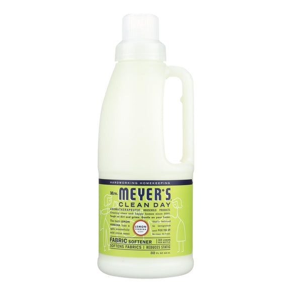 Mrs. Meyer's Clean Day - Fabric Softener - Lemon Verbena - 32 Oz - Vita-Shoppe.com