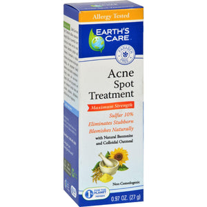 Earth's Care Acne Spot Treatment - .97 Oz - Vita-Shoppe.com