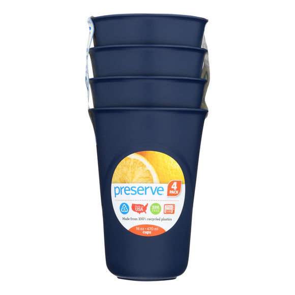 Preserve Everyday Cups - Midnight Blue - 4 Pack - Vita-Shoppe.com