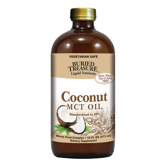 Buried Treasure Coconut Oil Mct - 15 Fl Oz - Vita-Shoppe.com