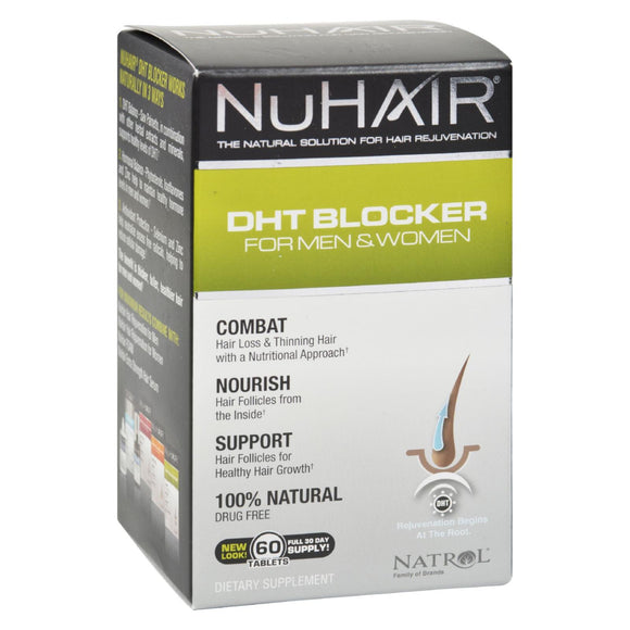 Nuhair Dht Blocker For Men And Women - 60 Tablets - Vita-Shoppe.com