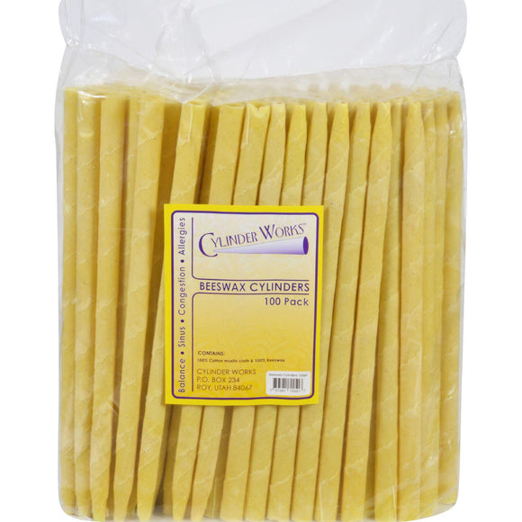 Cylinder Works Cylinders - Beeswax - 100 Ct - Vita-Shoppe.com