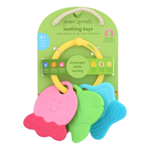 Green Sprouts Teething Keys - Unisex - 3 Months Plus - 1 Count - Vita-Shoppe.com