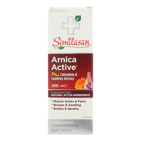 Similasan Arnica Active Skin Spray - 3.04 Oz - Vita-Shoppe.com