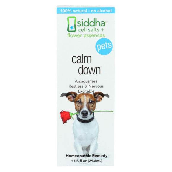 Siddha Flower Essences Calm Down - Pets - 1 Fl Oz - Vita-Shoppe.com