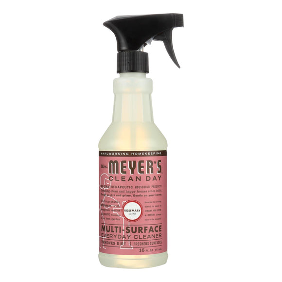 Mrs. Meyer's Clean Day - Multi-surface Everyday Cleaner - Rosemary - 16 Fl Oz - Case Of 6 - Vita-Shoppe.com