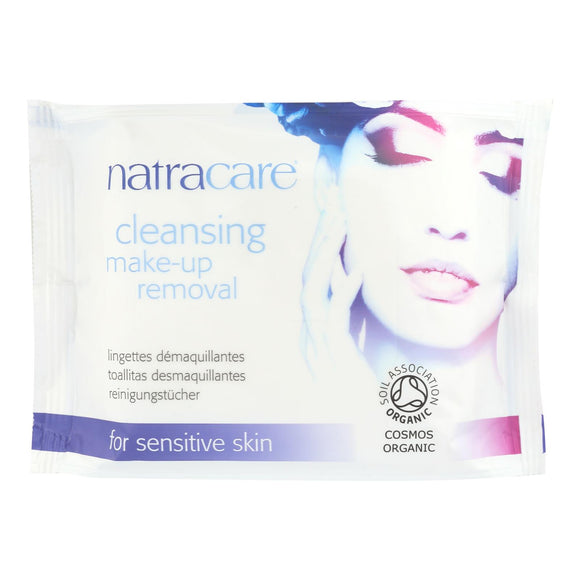 Natracare Make-up Removal Wipes - Cleansing - 20 Count - Vita-Shoppe.com