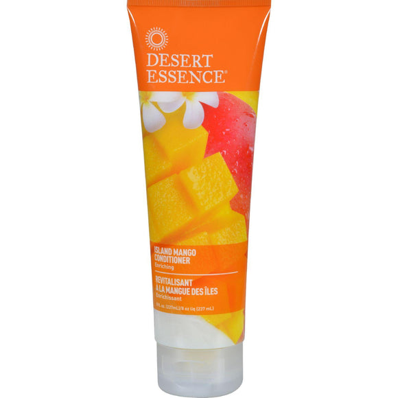 Desert Essence Conditioner - Island Mango - 8 Oz - Vita-Shoppe.com