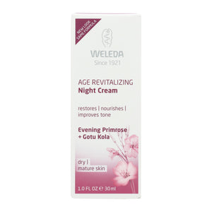 Weleda Night Cream - Age Revitalizing - Evening Primrose - 1 Oz - Vita-Shoppe.com