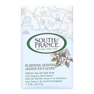 South Of France Bar Soap - Blooming Jasmine - Travel - 1.5 Oz - Case Of 12 - Vita-Shoppe.com