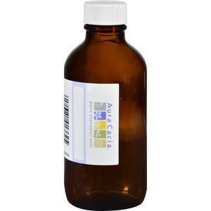 Aura Cacia Bottle - Glass - Amber With Writable Label - 4 Oz - Vita-Shoppe.com
