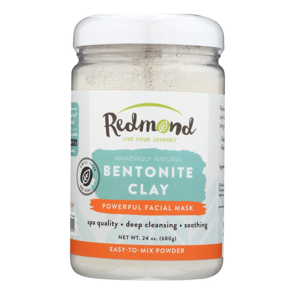 Redmond Clay - All Natural - 24 Oz - Vita-Shoppe.com