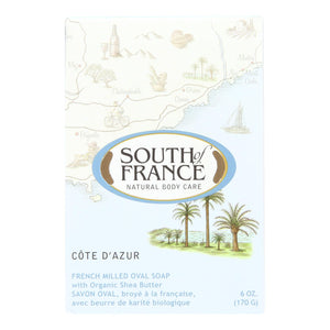 South Of France Bar Soap - Cote Dazur - 6 Oz - 1 Each - Vita-Shoppe.com