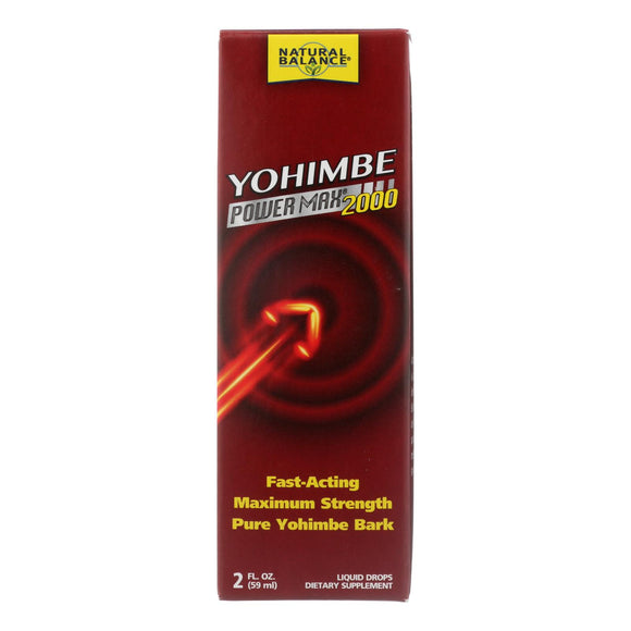 Natural Balance Yohimbe Power Max 2000 - 2 Oz - Vita-Shoppe.com