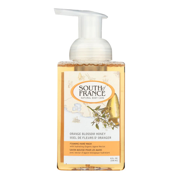 South Of France Hand Soap - Foaming - Orange Blossom Honey - 8 Oz - 1 Each - Vita-Shoppe.com