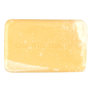 One With Nature Bar Soap - Lemon - Case Of 6 - 4 Oz. - Vita-Shoppe.com