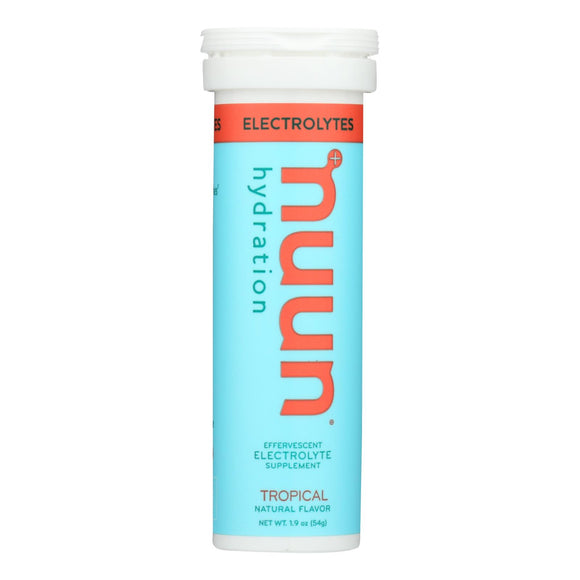 Nuun Hydration Drink Tab - Active - Tropical - 10 Tablets - Case Of 8 - Vita-Shoppe.com