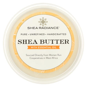Shea Radiance Unrefined Shea Butter  - 1 Each - 14 Oz - Vita-Shoppe.com