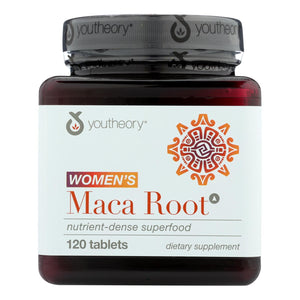 Youtheory Dietary Supplement Women's Maca Root Advanced  - 1 Each - 120 Tab - Vita-Shoppe.com