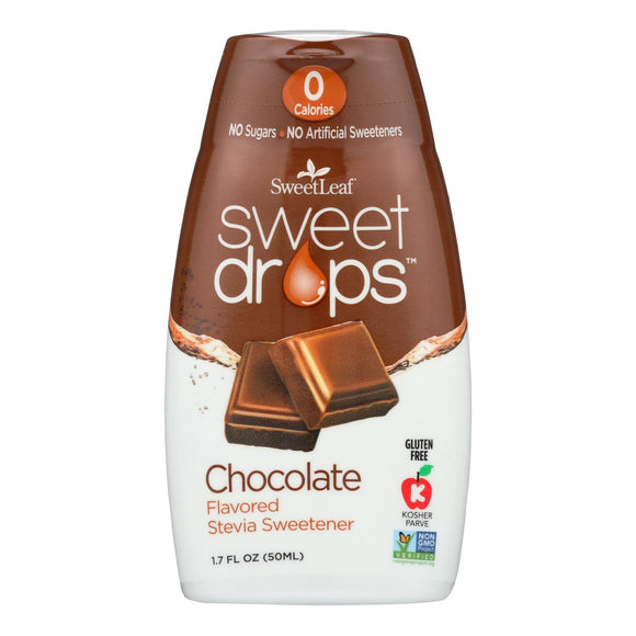 Sweetleaf Chocolate Sweet Drops - 1 Each - 1.7 Oz - Vita-Shoppe.com