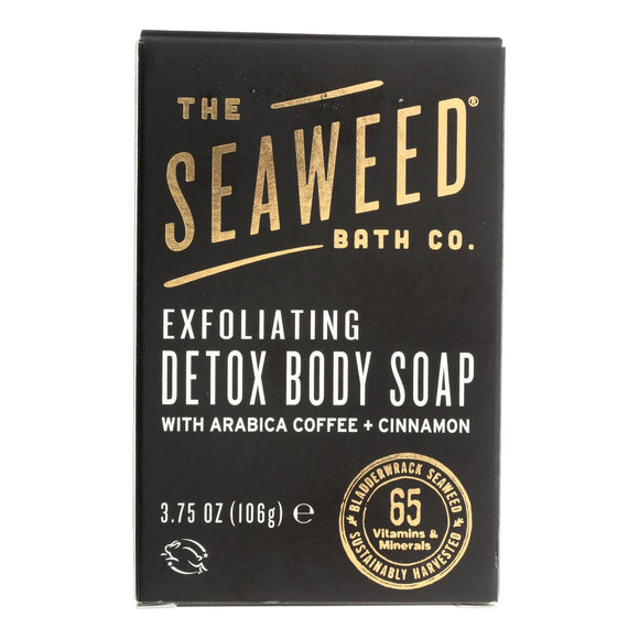 The Seaweed Bath Co Soap - Bar - Detox Cellulite - 3.75 Oz - Vita-Shoppe.com