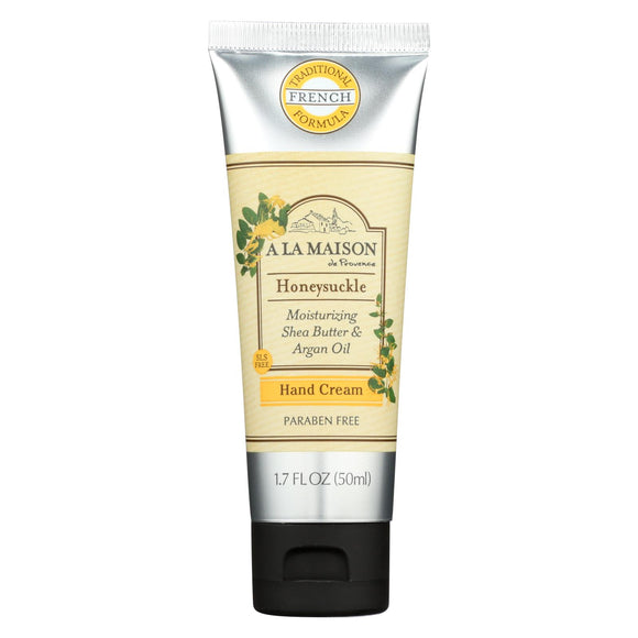 A La Maison - Hand Cream Honeysuckle - 1.7 Fl Oz. - Vita-Shoppe.com