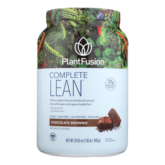 Plantfusion - Complete Lean Protein - Chocolate - 29.6 Oz.