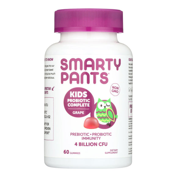Smartypants Kids Probiotic - Grape - 60 Count - Vita-Shoppe.com