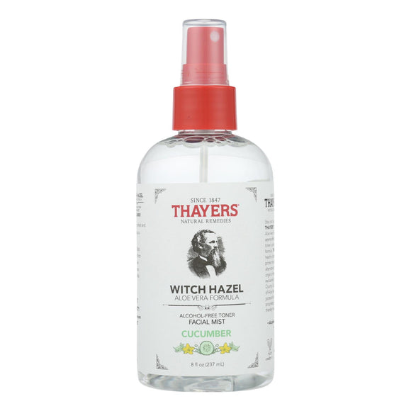 Thayers - Witch Hazel Facial Mist - Cucumber - 8 Fz - Vita-Shoppe.com