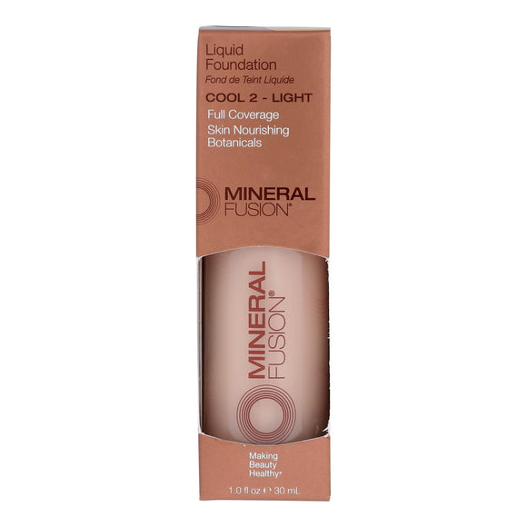 Mineral Fusion - Liquid Mineral Foundation - Cool 2 - 1 Oz. - Vita-Shoppe.com