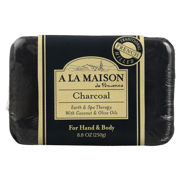 A La Maison Bar Soap - Charcoal - 8.8 Oz - Vita-Shoppe.com