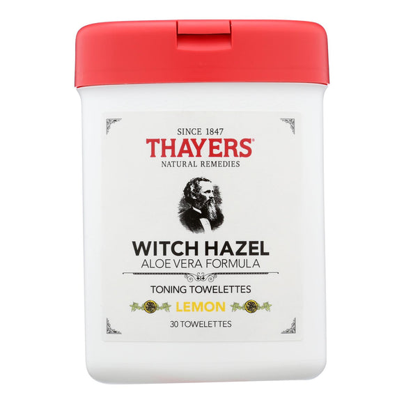 Thayers - Toner Twlttes Lemon - 1 Each - 30 Ct - Vita-Shoppe.com