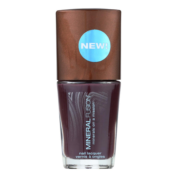 Mineral Fusion - Nail Polish - Pretty In Plum - 0.33 Oz. - Vita-Shoppe.com