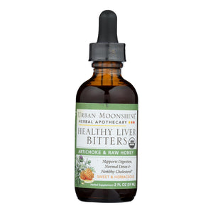 Urban Moonshine - Healthy Liver Bitters - Dropper - 2 Fl Oz. - Vita-Shoppe.com