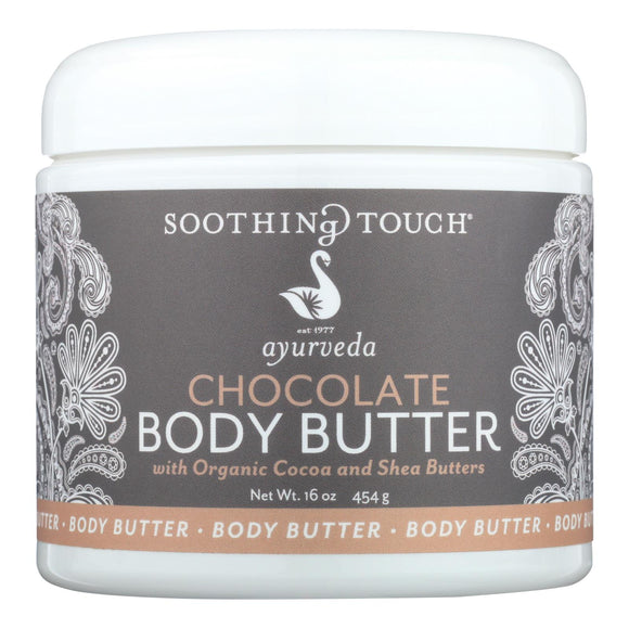Soothing Touch - Chocolate Body Butter - 16 Oz - Vita-Shoppe.com