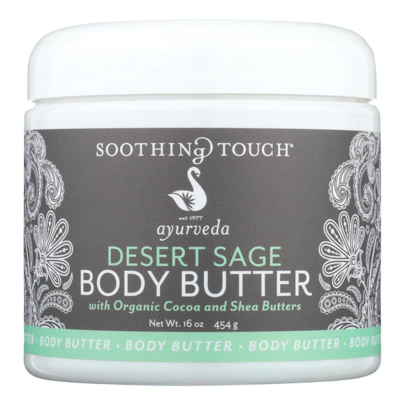 Soothing Touch - Desert Sage Body Butter - 16 Oz - Vita-Shoppe.com