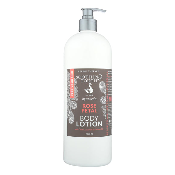 Soothing Touch - Rose Petal Body Lotion - 32 Fz - Vita-Shoppe.com
