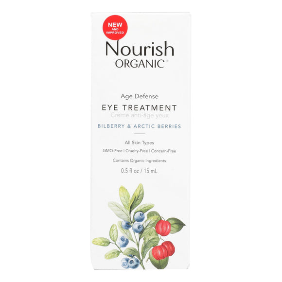 Nourish - Eye Treatment Age Defense - 1 Each - 0.5 Fz - Vita-Shoppe.com