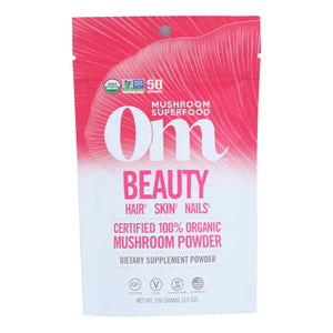 Om - Beauty Organic Powder 100grm - 1 Each - 3.5 Oz - Vita-Shoppe.com