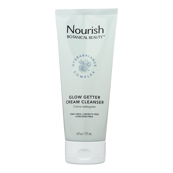 Nourish Botanical Beauty - Cream Cleanser Glow Getter - 1 Each - 6 Fz - Vita-Shoppe.com