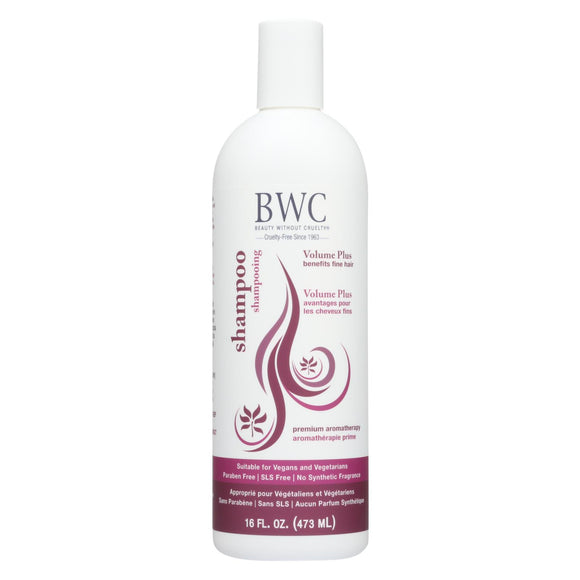 Beauty Without Cruelty - Shampoo - Volume Plus - 16 Fl Oz.