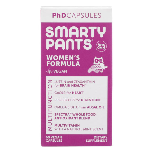 Smartypants - Womens Multi-vitamin Phd - 60 Ct.