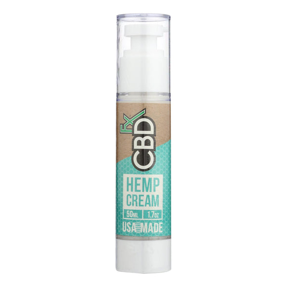 Cbd Fx - Hemp Cream - 1 Each - 1.7 Oz - Vita-Shoppe.com