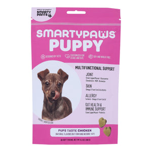 Smartypaws - Puppy Frmla Chicken - 1 Each - 60 Ct - Vita-Shoppe.com