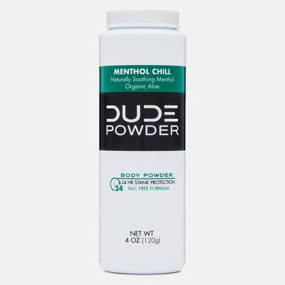 Dude Wipes - Dude Powder - Menthol Chill - 4 Oz.